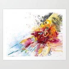 MINGA x Delivery of a Gift Art Print