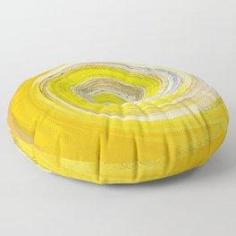 257 - Abstract Spiral Design Floor Pillow
