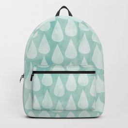 Big Drops Blush Blue Backpack