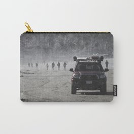 Lifeguard truck on the beach Carry-All Pouch