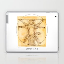 Leopardo da Vinci Laptop & iPad Skin