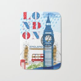 London Travel Bath Mat