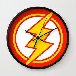Flash Sign Wall Clock
