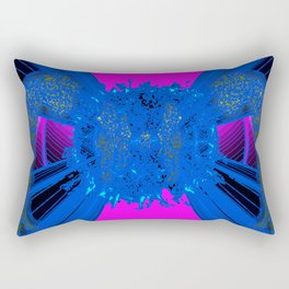 HYPERBOLIC POP II Rectangular Pillow