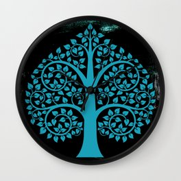 Bodhi Tree0107 Wall Clock