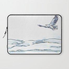 Flying Eagle, Hudson Valley (horizontal) Laptop Sleeve