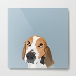 Cooper the dog Metal Print