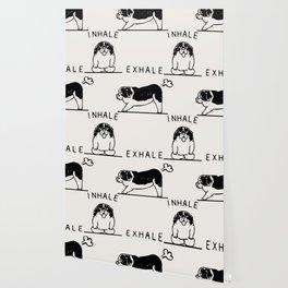Inhale Exhale  St. Bernard Wallpaper