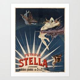 Petrole Stella Affiche Art Print