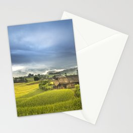 Vietnam Rice Cultivation Stationery Cards
