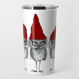 Christmas owls Travel Mug