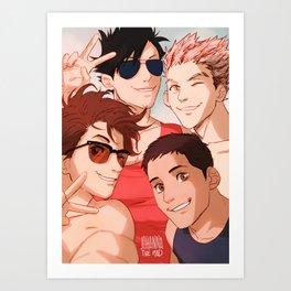 B) Art Print