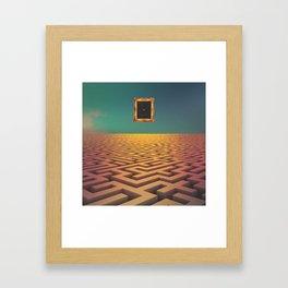 Laberinto Framed Art Print