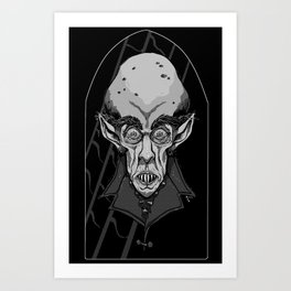 Count Orlok Art Print