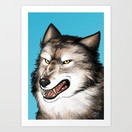 A predator Art Print