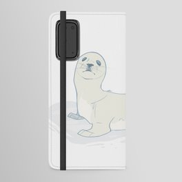Seal Pup Android Wallet Case