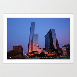 2009 - Urban Sunset I (High Res) Art Print