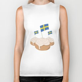 Swedish My Buns  Biker Tank