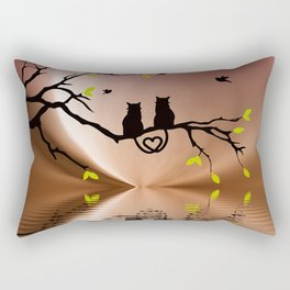 Springtime Love Rectangular Pillow