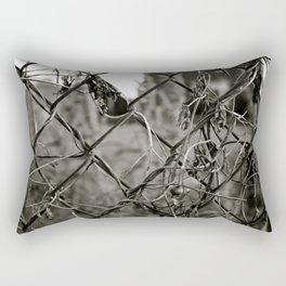 Fenced Rectangular Pillow