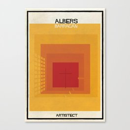 albers+barragan Canvas Print