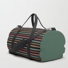 Horizontal dark stripes Duffle Bag