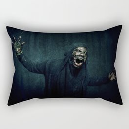 Boogie Horror: Mirror Mask - Attack! Rectangular Pillow