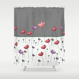 FLOWER LAND FANTASY Shower Curtain