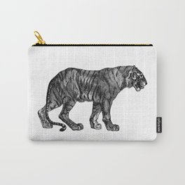 Fierce Tiger Prowling Carry-All Pouch