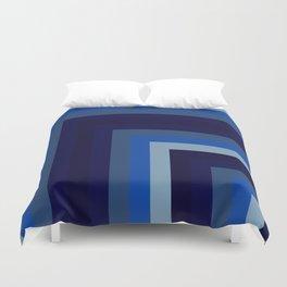 Blue Number 1 Duvet Cover