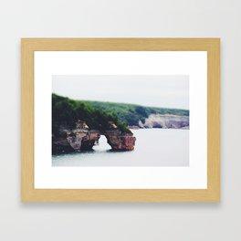 Lovers' Leap Framed Art Print