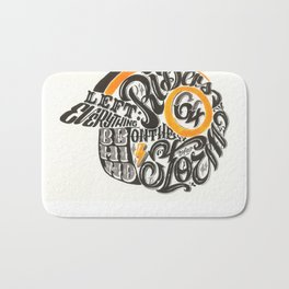 Riders on the Storm Bath Mat