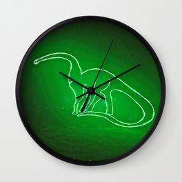 Dino Glow Wall Clock