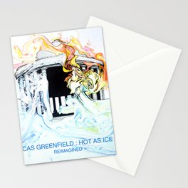 Hot As Ice Stationery Cards