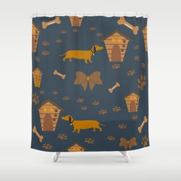 For dachshund lovers Shower Curtain