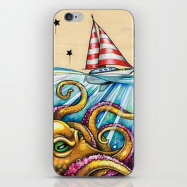 Unwanted Guest iPhone Skin