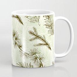 Christmas tree pattern. Coffee Mug