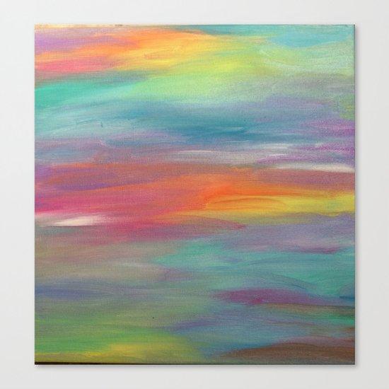 Opal Landscape Canvas Print