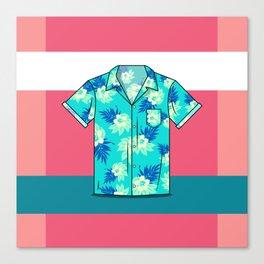Hawaiian Shirt Canvas Print
