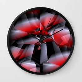 3D abstraction -11- Wall Clock