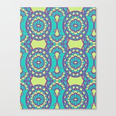 Sunny Day Pattern  Canvas Print