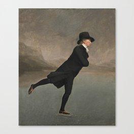 Robert Walker- The Skating Minister Canvas Print