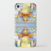 sci fi iPhone & iPod Cases featuring Sci Fi Horizons by Phil Perkins