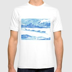 Iditarod MEDIUM Mens Fitted Tee White