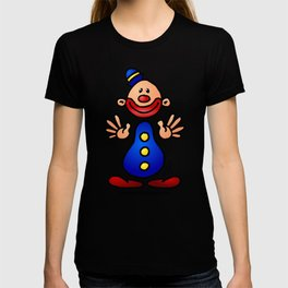 Cheerful circus clown T-shirt