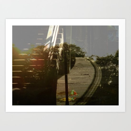 Unattached Art Print