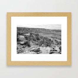 Mack Ridge 2 Framed Art Print