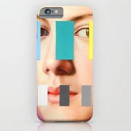 Portrait With A Spectrum 3 iPhone Case