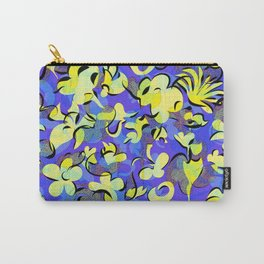 blue and yellow Carry-All Pouch