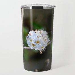 Singular Cherry Blossom Travel Mug